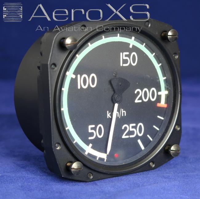 Alouette/Lama Airspeed Indicator (Km/h) P/N 3160S76-21-907