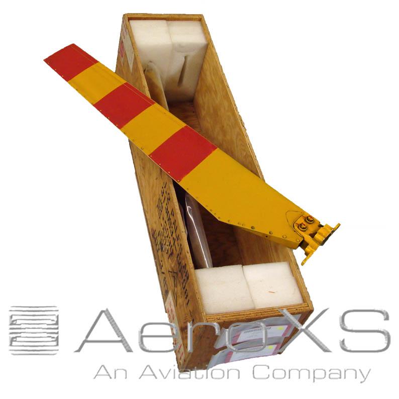 Alouette II Tail Rotor Blades Set, Acrylic