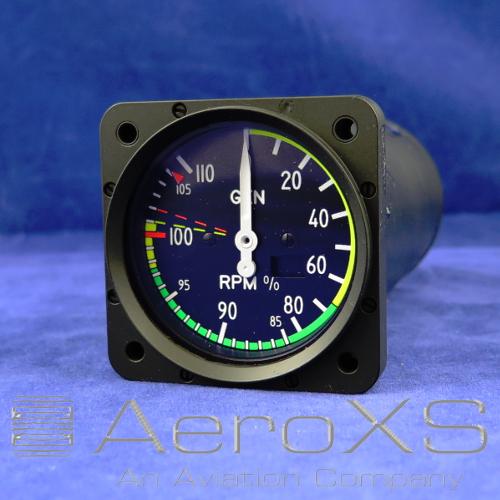 Dauphin Engine Tachometer Indicator P/N 64538-308-1